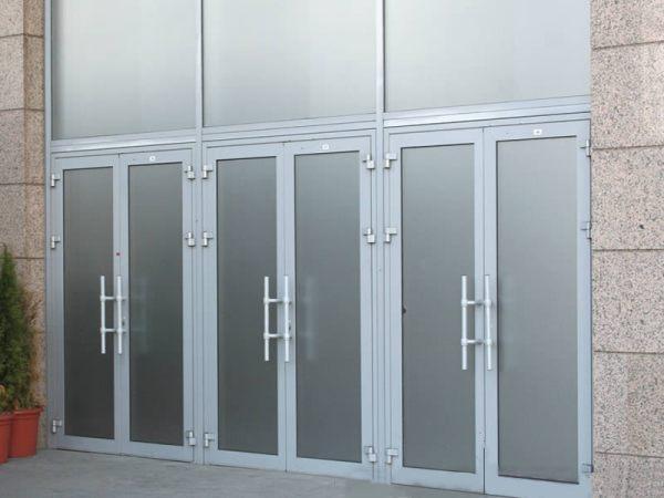Купить алюминиевые двери Симферополь - Окна Элин